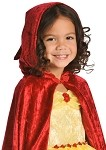 Red Princess Cloak with Hood
