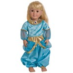 Arabian Princess Jasmine Replica Doll Costume