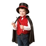 Child's Magician Costume with Top Hat