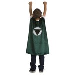 Boys Green Hero Cape