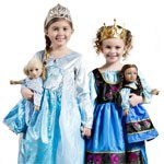 Complete Frozen Replica Dress Set