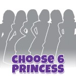 Create Your Own 6 Dress Princess Set