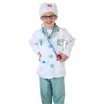Play Doctor Scrubs with Jacket Costume