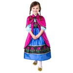 Magenta Cloak Inspired by Frozen's Princess Anna