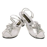 Glass Slipper Princess Shoe