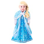 Doll Sized Ice Cloak Inspired by Frozen's Queen Elsa