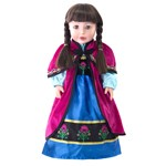 Doll Sized Magenta Cloak Inspired by Frozen's Princess Anna