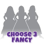 Pick 3 FANCY Princess Dresses