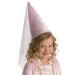 Pink Princess Cone Hat