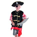 Pirate Costume with Sword
