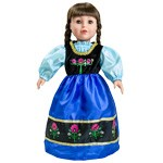 Princess Anna Replica Doll Dress
