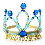Blue and Gold Tiara