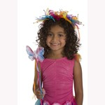 Rainbow Fairy Halo and Wand