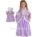 Rapunzel Child and Doll Dress Set Ruffle Style