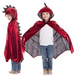 Red Scaley Dragon Cloak