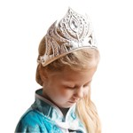 Silver Frozen Inspired Soft Tiara