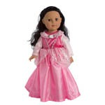 Sleeping Beauty Aurora Doll Dress