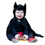 Toddler Bat Cape with Attached Hood