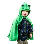 Toddler Frog Cape with Hood