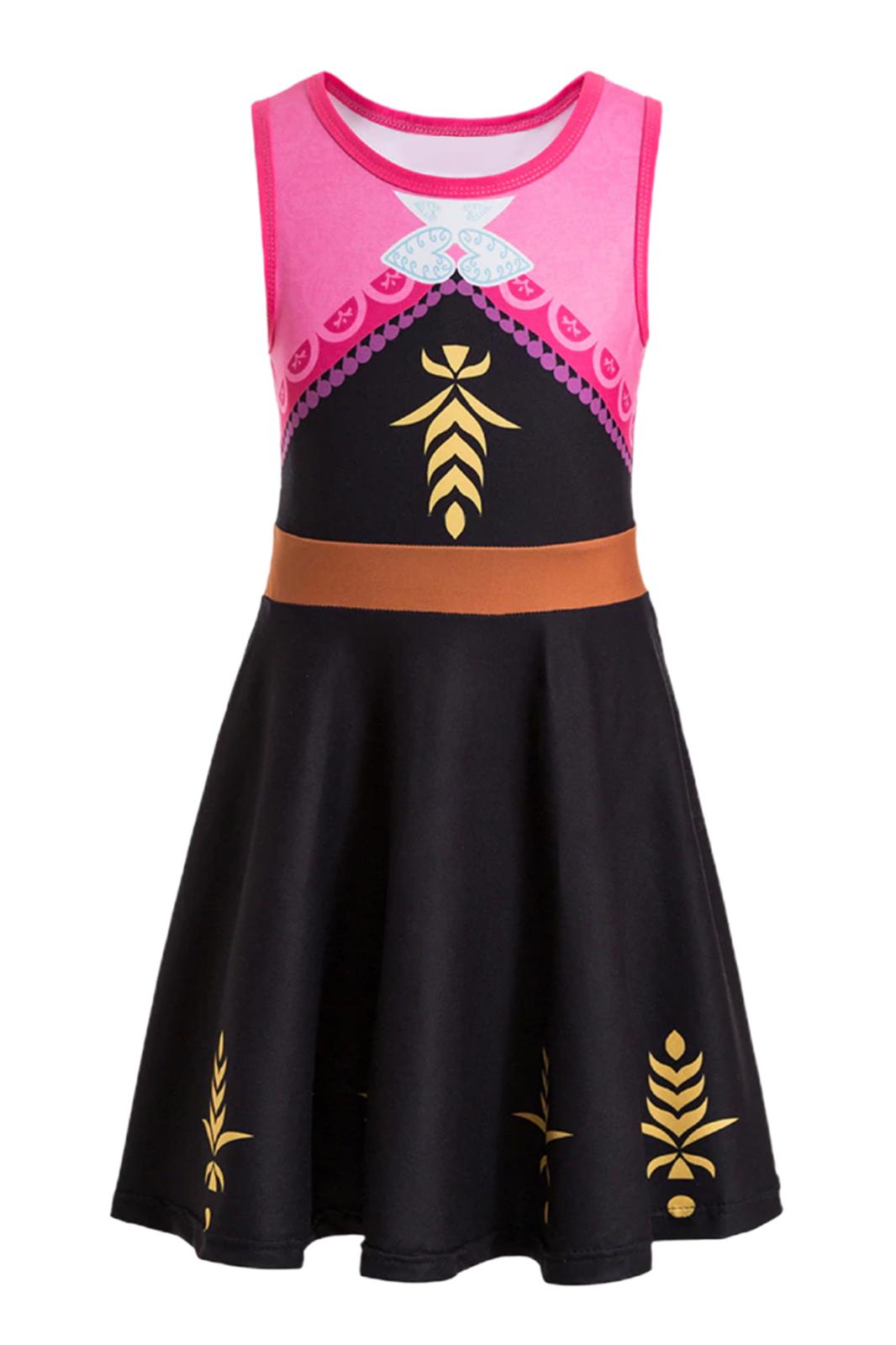 Play Little Pretends Scandinavian Princess Anna Dress Costume