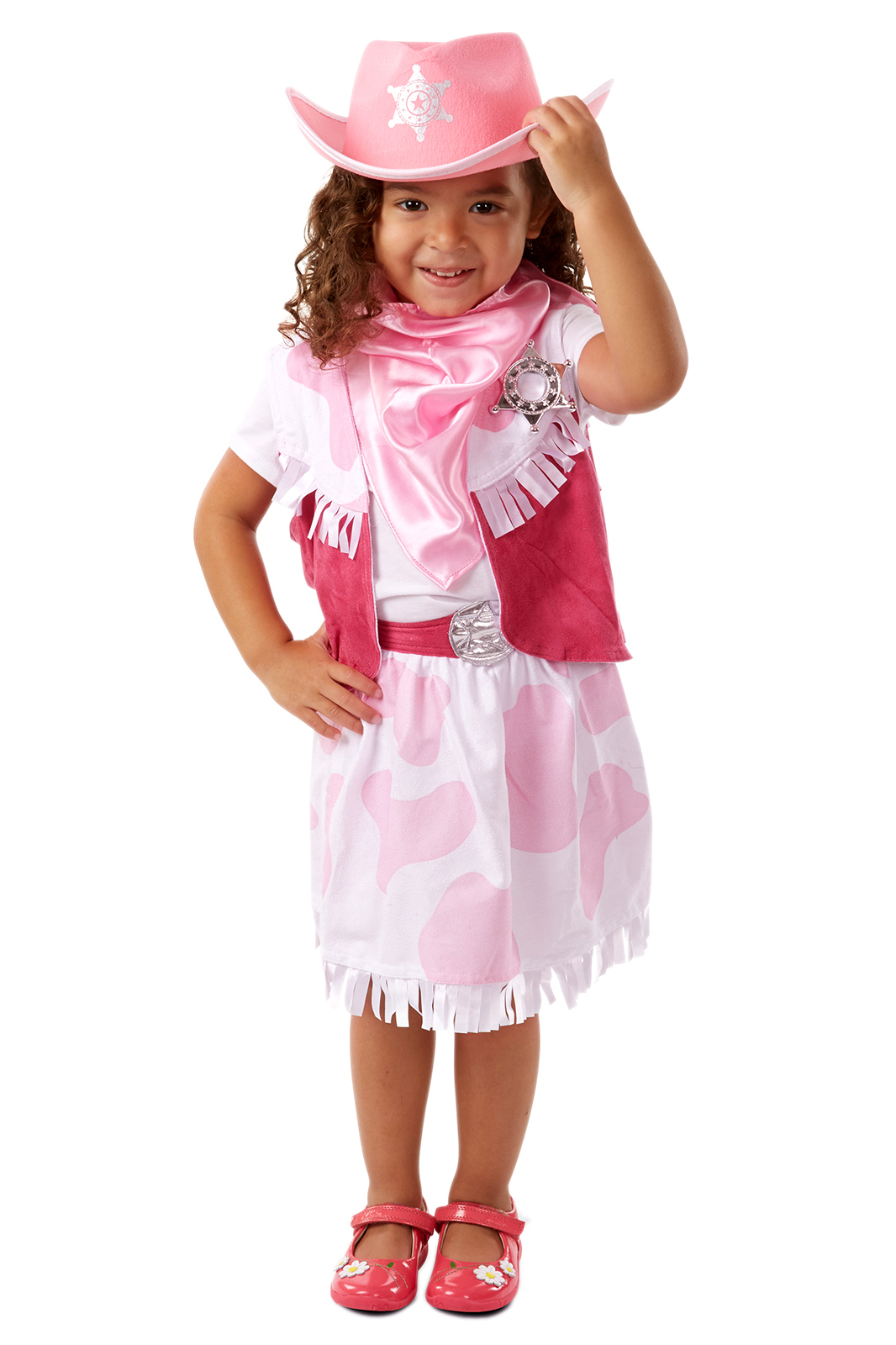 Cowgirl Dress Up Costume  Pretend Play fo Girls