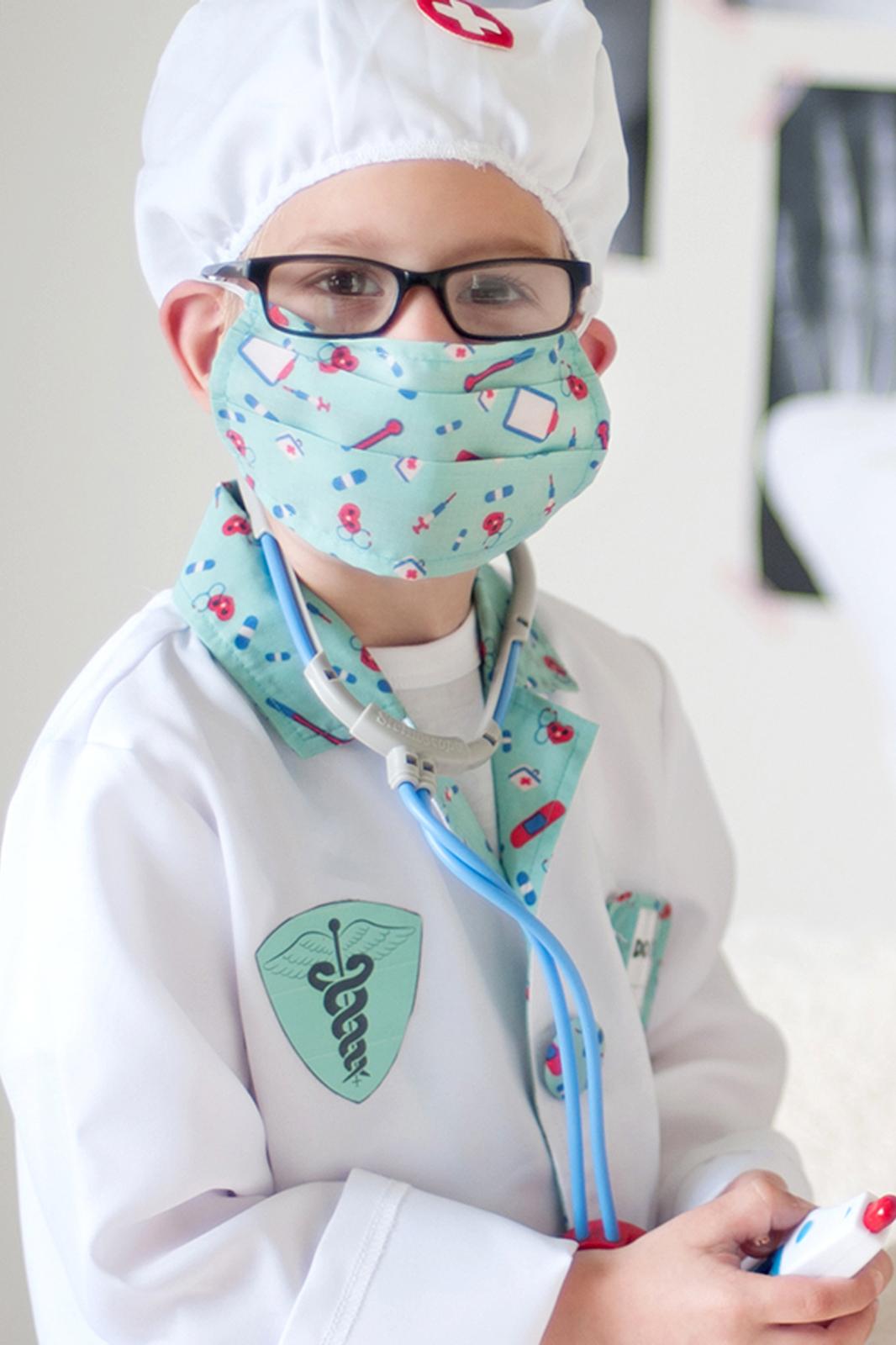 Doctor Nurse Surgeon Stethoscope Costume Accessory New