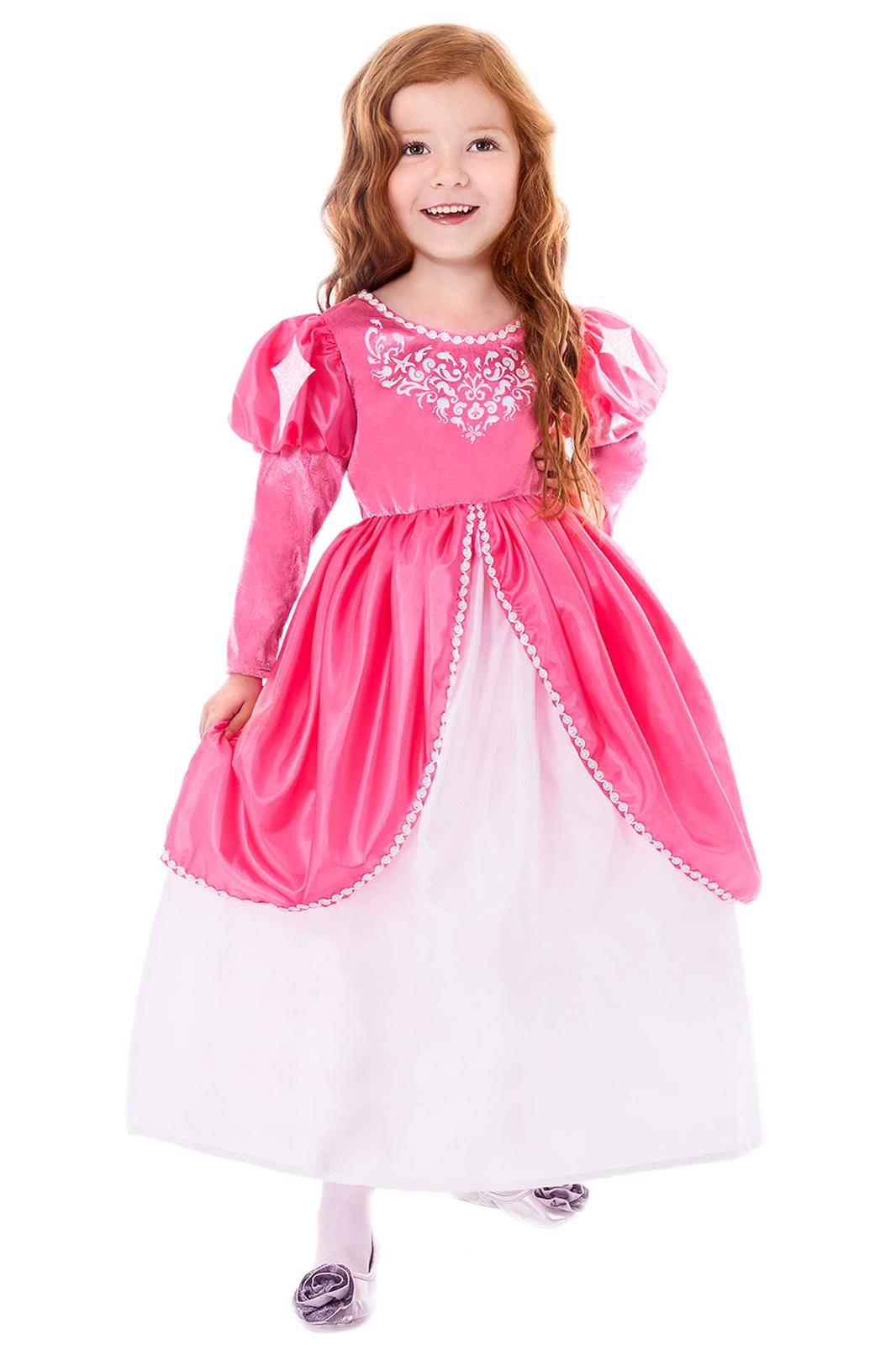Pink Little Mermaid Ballgown