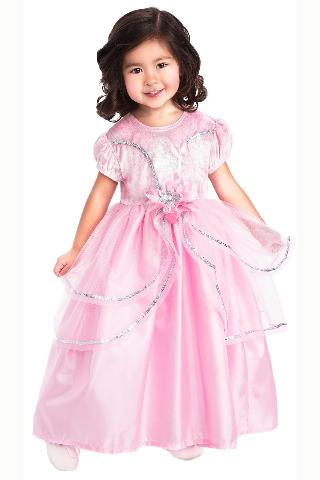 Royal Pink Ballgown Dress Up Costume