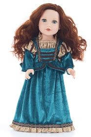 Scottish Princess Doll Dress