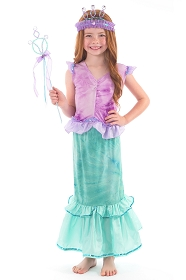 Little Mermaid 2-Piece Dress Up