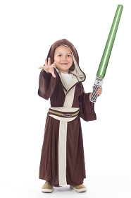 Light Side Galactic Brown Robe