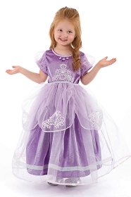 DELUXE Purple Amulet Princess Dress