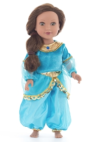 Arabian Princess Doll Costume