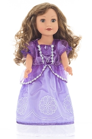 Purple Amulet Princess Doll Dress