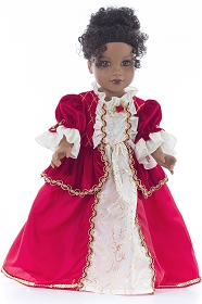 Winter Beauty Doll Dress