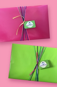 Signature Gift Wrap with Handwritten Note