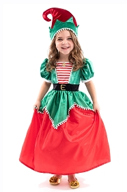 Santa's Elf Dress-Up with Hat