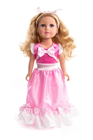 Pink Cinderelly Doll Dress