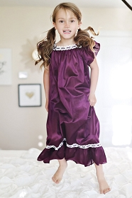 Plum Vintage Nightgown