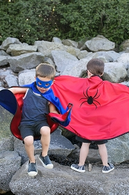 Reversible Superhero Adventure Cape