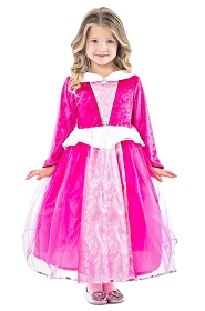 DELUXE Pink Sleeping Beauty Dress