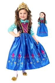 Scandinavian Princess Child and Doll Dress Set
