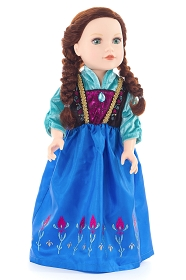 Scandinavian Princess Doll Dress