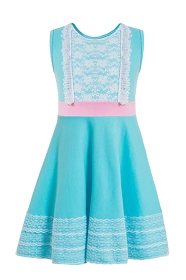 Blue Bo Peep Tank Dress