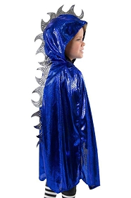 Blue Scaley Dragon Cloak