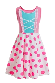 Pink Bo Peep Tank Dress