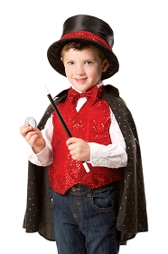 Magician Costume with Top Hat