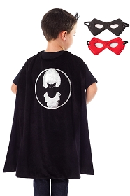 Bat Hero Cape with Reversible Mask