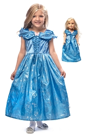 Butterfly Cinderella Child and Doll Dress Set
