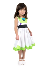 Twirly Girl Space Explorer Dress